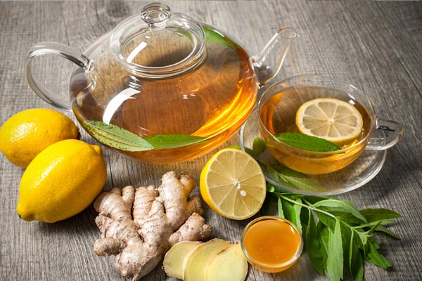 Get rid of bloating with Ginger