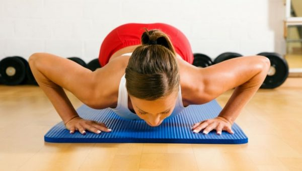 exercise to reduce your breast size