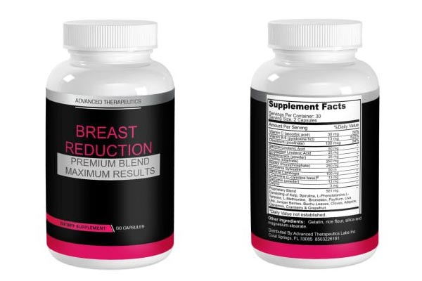 Breast Reduction Pills